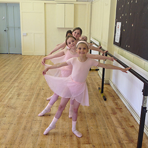 Bushey Ballet Students